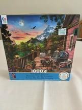 Ceaco 1000 Piece Puzzle Weekend Retreat Complete  - $11.63