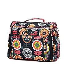 Ju-Ju-Be Classic Collection B.F.F. Convertible Diaper Bag, Dancing Dahlias - $84.50