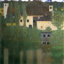 """Gustav Klimt """"Water Castle, 1908"""" HD print on canvas large wall picture ... - $25.73"""