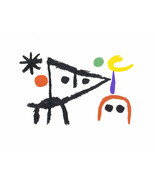 MIRO LITHOGRAPH w/COA. € $ invest gift magical Joan Miró 1972 litógrafo ... - $132.50