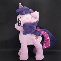 My Little Pony Twilight Sparkle Unicorn Purple Plush Stuffed Animal Star... - $15.83