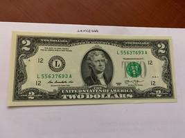 United States Jefferson $2 uncirc. banknote 2013 #1 - $7.95