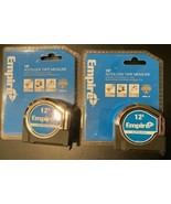 EMPIRE 500AL-12 12' Auto Lock Tape Measure 2 Tapes - $9.90