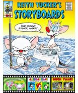 Keith Tucker's Storyboard Sketchbook #01 with original KT quick sketch - $30.00