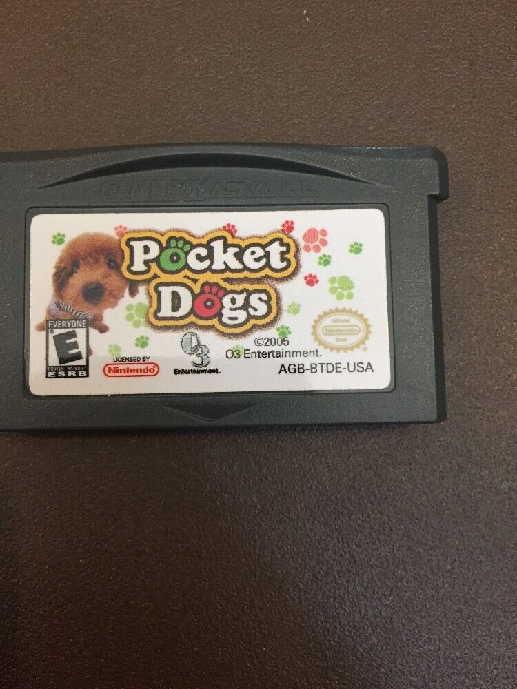 Pocket Dogs (Nintendo Game Boy Advance, 2005) CARTRIDGE ONLY - FREE SHIPPING