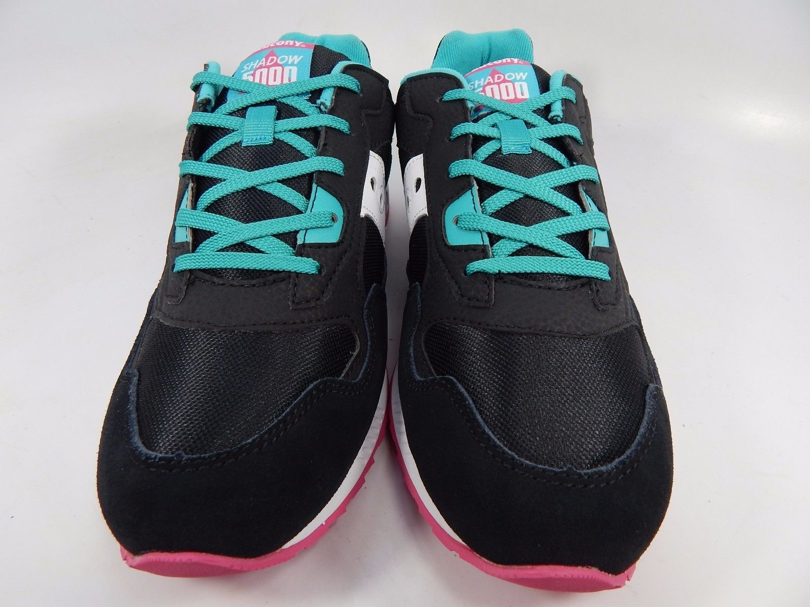 Saucony Original Shadow 5000 Women's Girl's Youth Shoes Sz 7 Y (M) EU 39.5 Black
