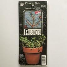 Rosemary Plant Stake Label Cross Stitch Plastic Canvas Kit NMI 2639 Herb... - $3.47