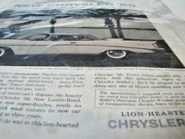 1959 Chrysler Saratoga 2 door Hardtop Automobile Print Ad - $9.89