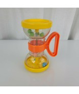 Vintage Playskool Plastic Baby Toy Rattle Grasping Bead Marble Sand Time... - $29.69