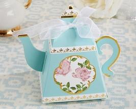 Tea Time Whimsy Teapot Favor Box (Set of 24) - $21.33