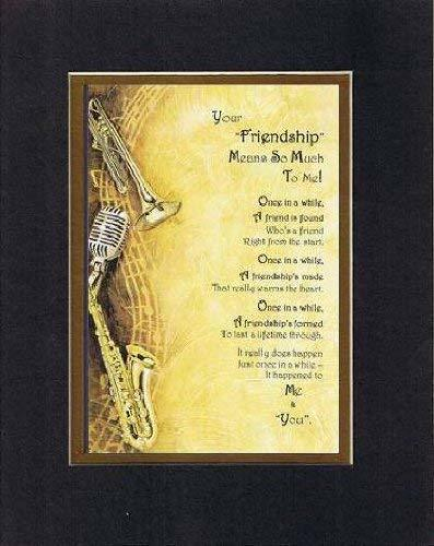 Primary image for Touching and Heartfelt Poem for Special Friends - Your Friendship Means So Much