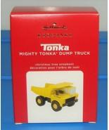 Hallmark Keepsake 2020 Hasbro Tonka Mighty Dump Truck Christmas Ornament... - $39.90