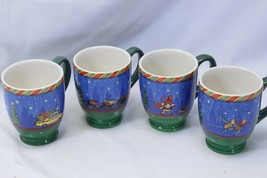 Sango Christmastime in the City Mugs 4 Scenes Lot of 4 - $39.19