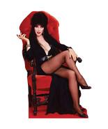 Elvira Halloween Talking Lifesize Standup Standee Cardboard Mistress Of ... - $55.44