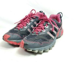 Adidas Athletic Running Shoes Women's 9.5/42 Black Pink (tu39ep) - $36.00