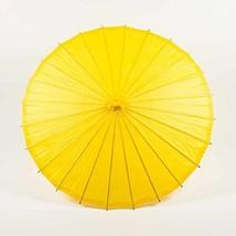 """Quasimoon PaperLanternStore.com 28"""" Yellow Paper Parasol Umbrella - $15.50"""