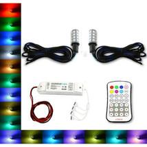 H3 27 SMD RGB Multi-Color Changing Shift Led Fog Light DRL Bulb M7 Pair - $49.95