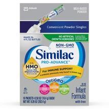 Similac Pro-Advance Non-GMO Infant Formula with Iron, with 2'-FL HMO, fo... - $31.49