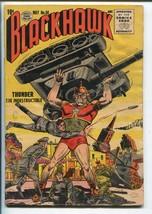 BLACKHAWK #88 1955-QUALITY-TANK-THUNDER-vg minus - $59.60
