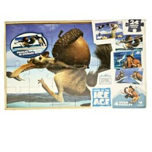 Cardinal Ice Age: Continental Drift Puzzles 4 Wood Puzzles  - $33.87