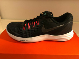 Women's Nike Lunar Apparent Running Shoes Black/MTLC Dark Grey-Solar Red... - $69.99