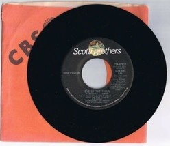 Survivor Eye Of The Tiger 45 rpm Record B Take You On A Saturday 1982 - £5.54 GBP