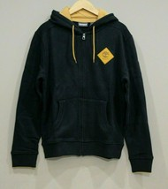 Timberland Men's Full Zipped Hoodie NEW AUTHENTIC Black A1OHN 001 - $59.99