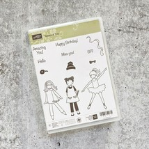 Stampin Up Talented Trio photo-polymer Set Of 12 Stamps New - $19.79