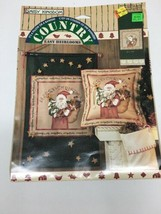 "Daisy Kingdom 1 Country Santa Panel 18"" x 45"" NIP Craft Banner or Pillow 1996 - $19.35"