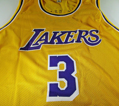 ANTHONY DAVIS / AUTOGRAPHED LOS ANGELES LAKERS CUSTOM BASKETBALL JERSEY / COA image 2