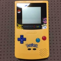 Nintendo Game Boy Color Pokemon ver Video Game From Japan Official Import - $94.04