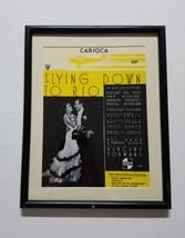 "Carioca sheet music [framed] from movie ""Flying Down To Rio"" 1933 - $18.00"