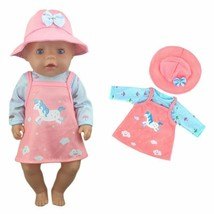 Doll Jump Suits Lovely Fit For 43cm Wear Doll 17 Inch Reborn Baby Clothe... - $6.87+