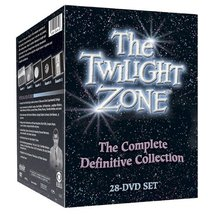 The Twilight Zone: The Complete Definitive Collection 28-DVD Box Set