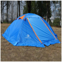 2-person Tent for Camping Water-resistant Polyester Thickened PU-coated ... - $78.50