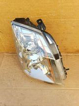 08-13 Cadillac CTS 4 door Sedan Halogen Headlight Lamp Set Passenger Right RH image 4