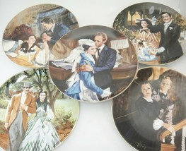 Gone With The Wind Collector Plates Lot of 5 1990 50th Anniversary Howard Rogers - $44.54