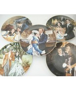 Gone With The Wind Collector Plates Lot of 5 1990 50th Anniversary Howar... - $42.31