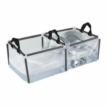 Camping Travel Dish Washing Cleaning Basin Container Collapsible Sink Se... - $29.12