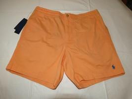 Polo Ralph Lauren Shorts Hommes L Extensible Coupe Classique 995015 Orange - $40.00