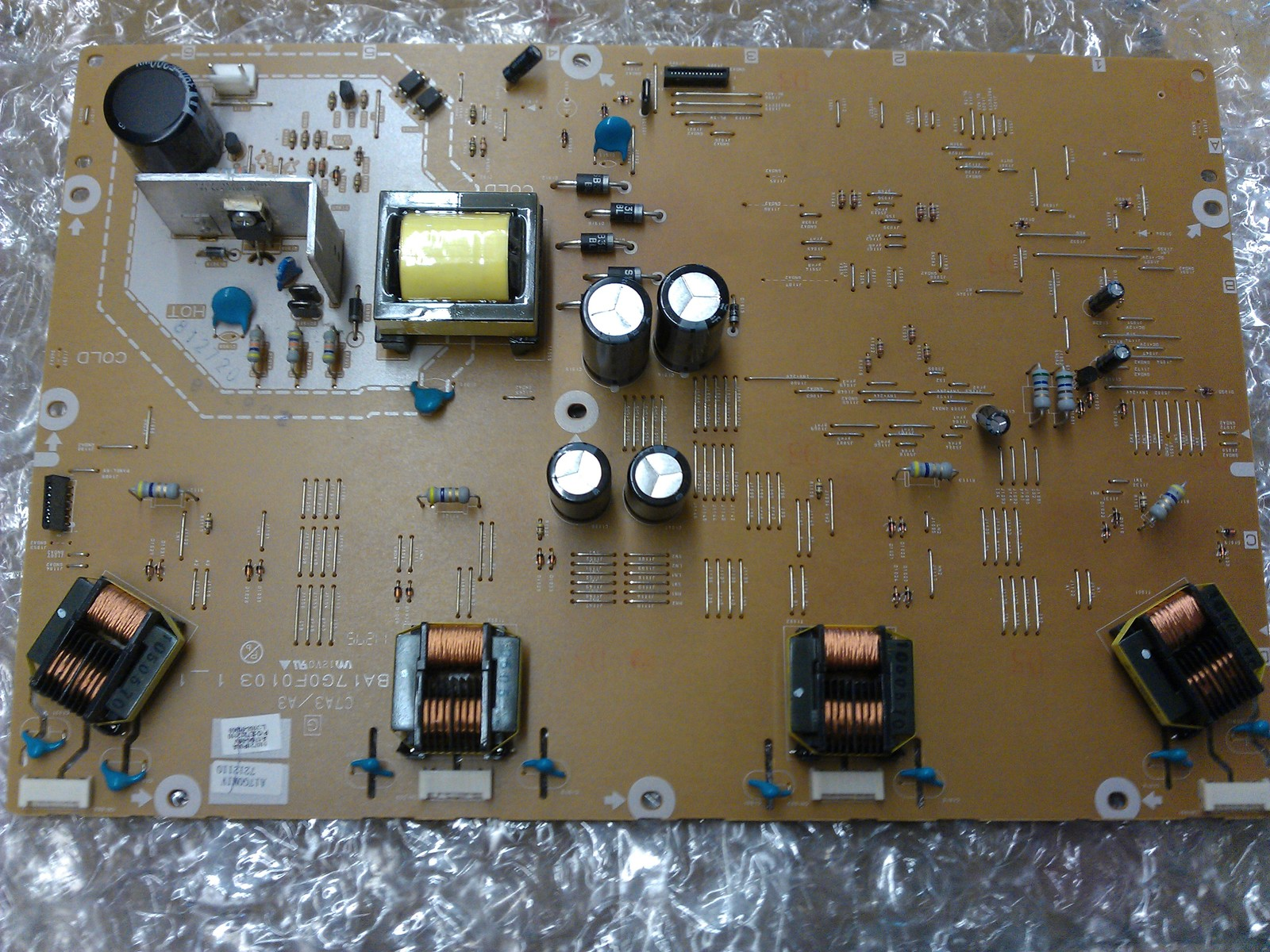 A17G0M1V-001-IV A17G0MIV  Inverter Board From Emerson LC370EM2 DS1LCD TV - $31.95