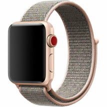 GENUINE Apple Watch 42mm/44mm Sport Loop Band Pink Sand MQW92AMA/A NEW image 2