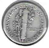Nice 1928 P Mercury dime