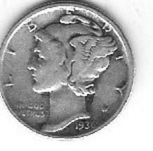 Nice 1936D Dime - $4.00