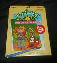 VINTAGE 1990 ROSE ART CABBAGE PATCH KIDS DOLL PAINT BY NUMBER PICTURES C... - $22.21