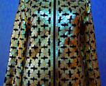 Ld leather leaf jacket women design 06 genuine short zip up light lightweight xl 1 thumb155 crop