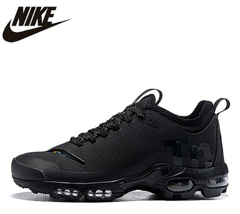 NIKE AIR MAX PLUS TN Original Men's Breathable Running Shoes Black - $158.94+