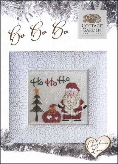 Christmas Love Ho Ho Ho Holidaycross Stitch Chart Cottage