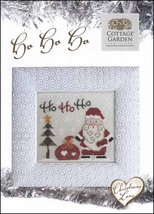 Christmas Love Ho Ho Ho holidaycross stitch chart Cottage Garden Samplings - $6.30
