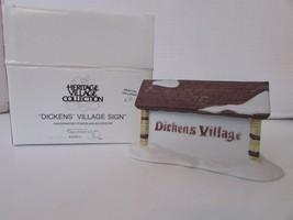 Dept 56 55692 Dickens Village Sign Village Access Mib D3 - $14.65